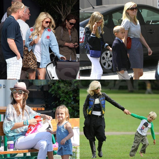 Celebrities on Mother's Day