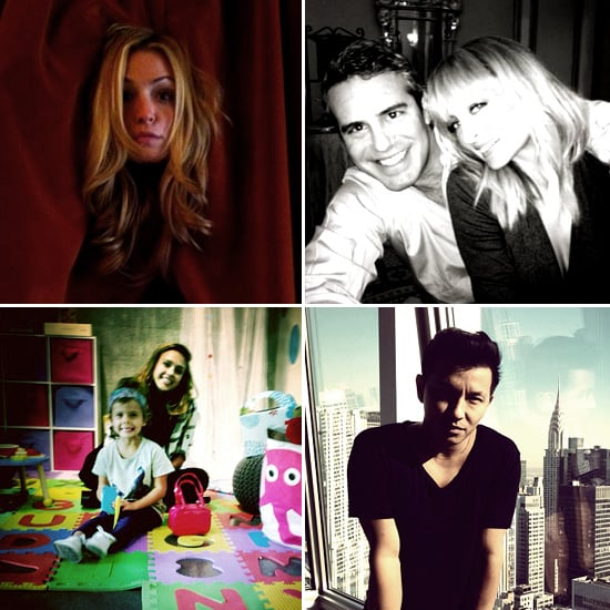 Pictures of Celebrities and Models on Twitter Jan. 10, 2012