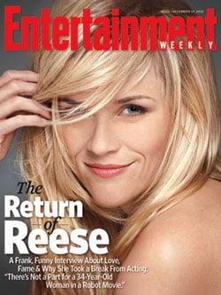 Reese Witherspoon Talks Divorce and Dating Non-Actors in Entertainment Weekly