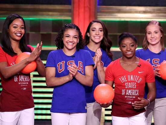 Watch the Final Five Turn Into Hungry Hungry Humans on Tonight Show