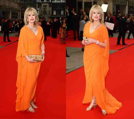 2008 TV Bafta Awards: Joanna Lumley