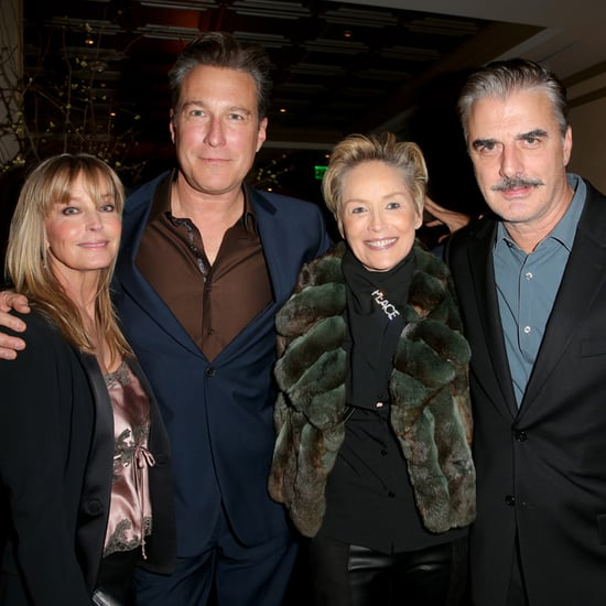 John Corbett and Chris Noth Out in LA January 2016