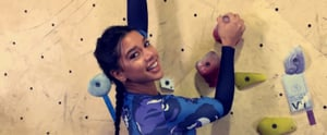 Hannah Bronfman Tries Bouldering — and We're Seriously in Awe