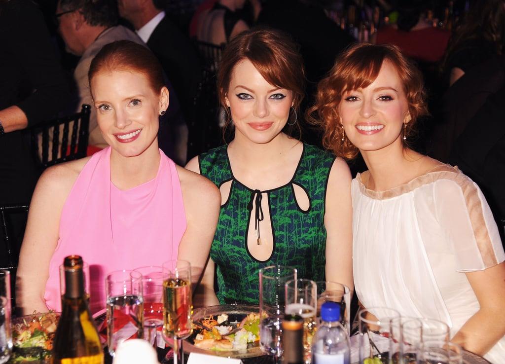 Jessica, Emma, and Ahna