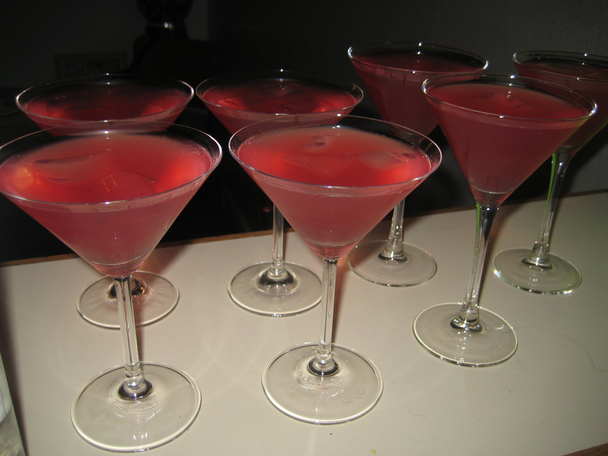 We guzzled far too many cosmopolitans — the cranberry cocktail that was made popular by the show. Are you excited for the Sex and the City movie? How do you plan on celebrating?