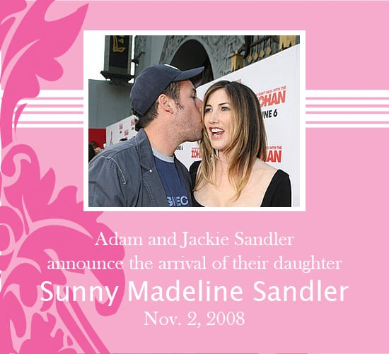 It's Another Girl For Adam Sandler and Wife!