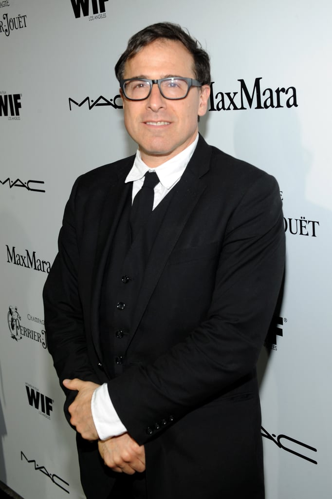 David O. Russell attended the Women in Film event in LA on Friday night.