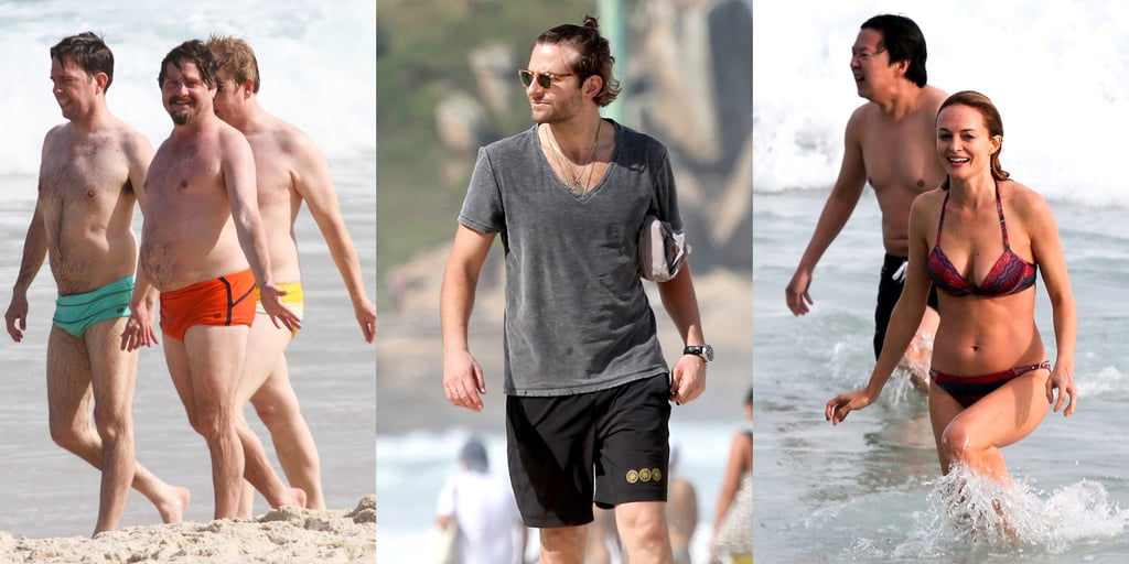 The Hangover Crew Hits the Beach!