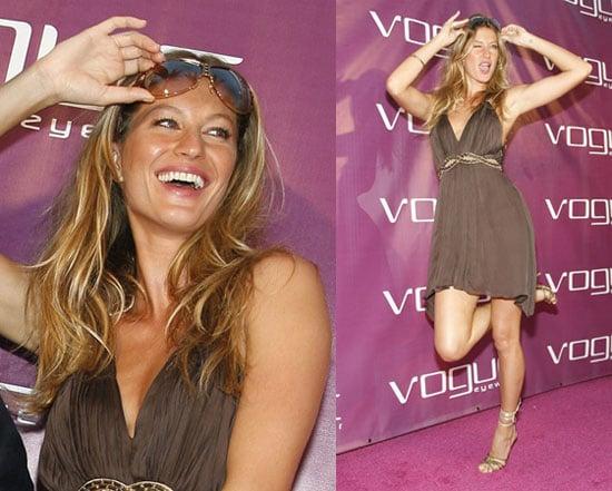 Gisele Hams it Up for Vogue Eyewear