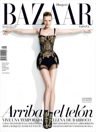 Harper's Bazaar Spain September 2012