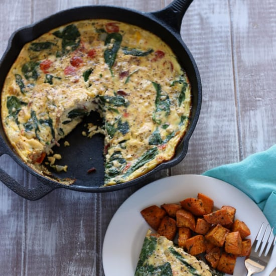 Bacon and Spinah Frittata Recipe