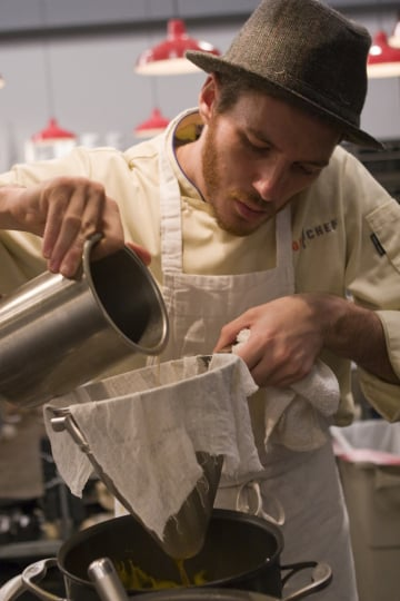 Spike Mendelsohn Tips His Hat to Top Chef