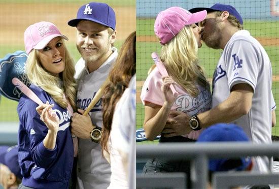 Photos of Heidi Montag and Spencer Pratt at Dodger Stadium