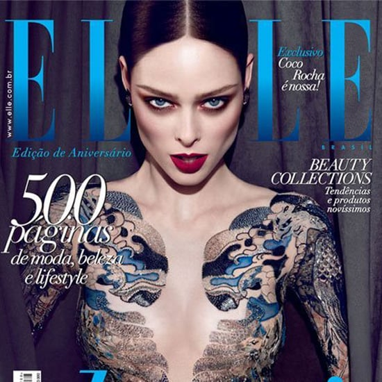 Coco Rocha Could Sue Elle Brazil For Nude May 2012 Cover