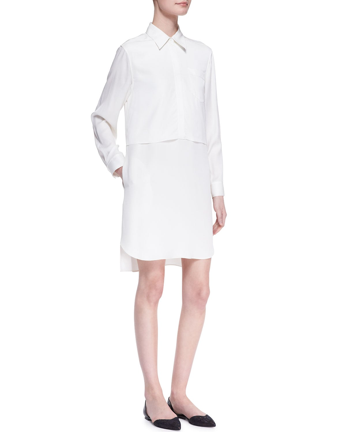 3.1 Phillip Lim Long-Sleeve Shirtdress