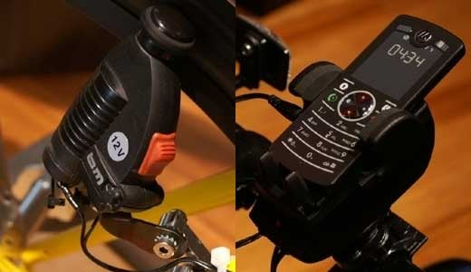 Phone Charger for Your Bike: Pedal Power
