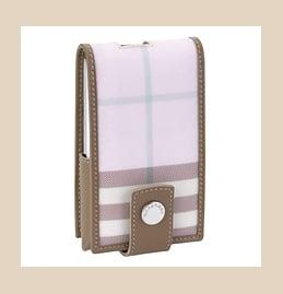 Great Geek Gear Find: Pink Burberry Mini iPod Case