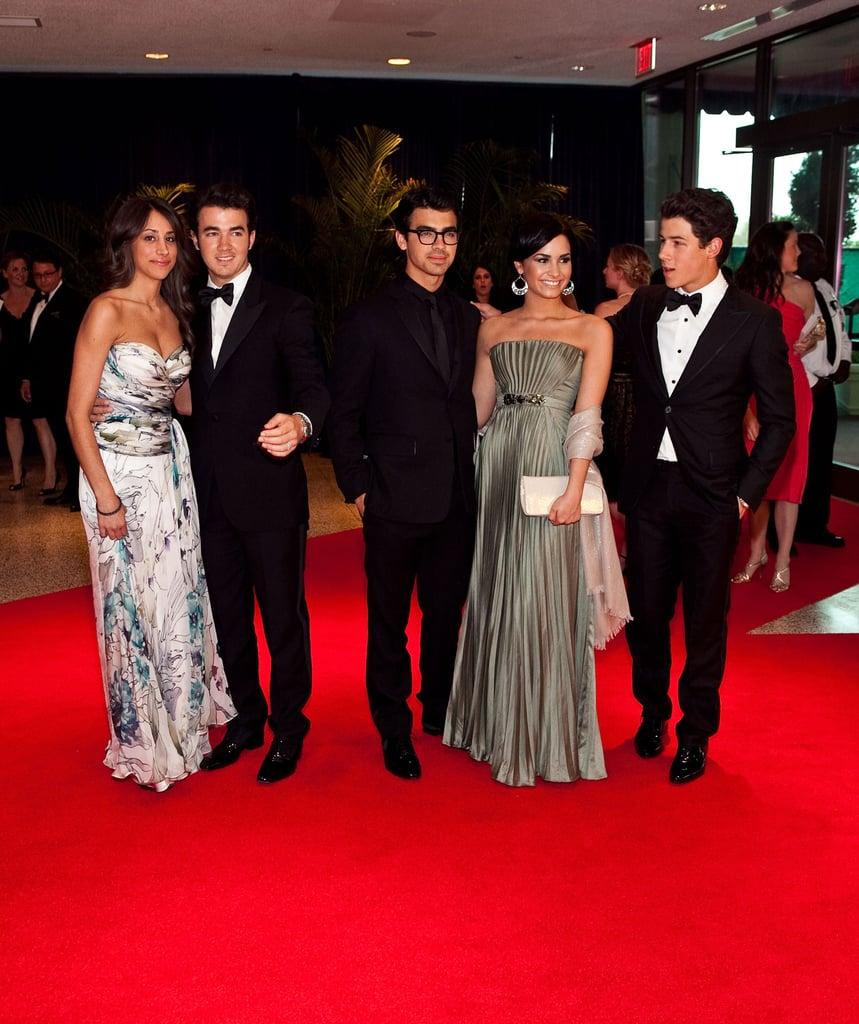 The Jonas Brothers and Demi Lovato