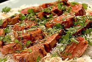 Today's Special: Sake Salmon and Rice