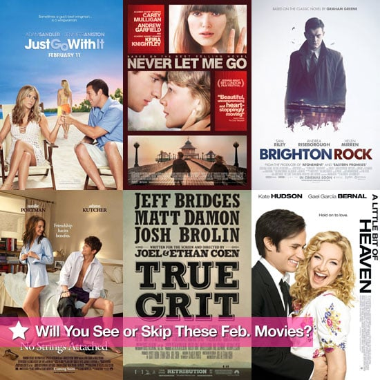 Movies Films Released at UK Cinemas in February 2011 Including