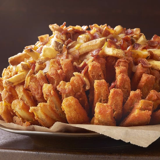 Outback Bloomin' Onion With Cheese Fries