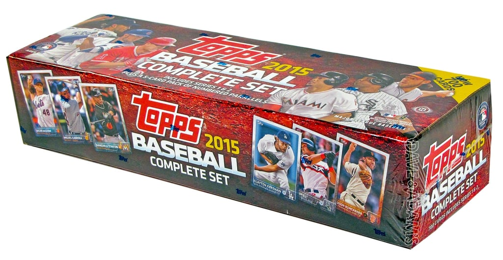 For 7-Year-Olds: 2015 Topps Baseball Collection Full Set
