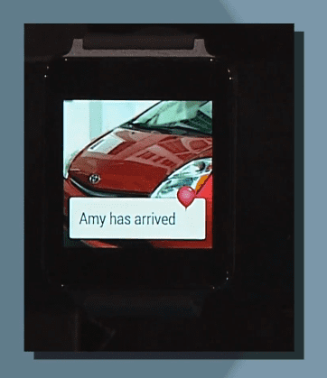 Lyft ride-sharing in Android Wear.
