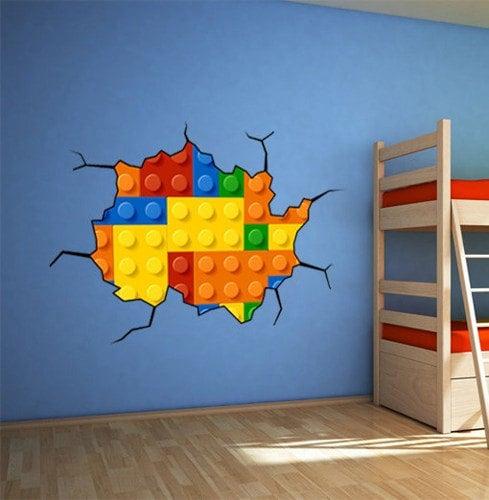 Lego Wall Decall
