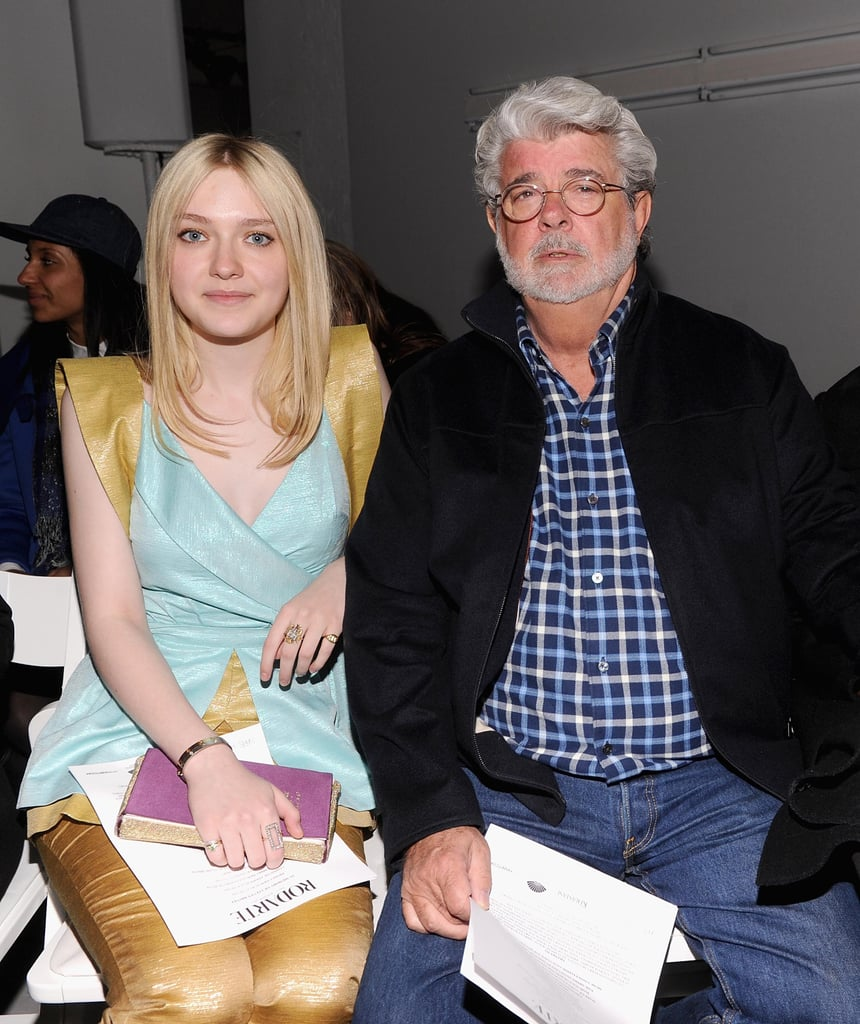 Natalie Portman and Dakota Fanning Team Up For a Fashion Week Front Row