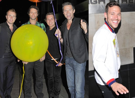 Photos Of Take That - Gary Barlow, Mark Owen, Jason Orange, Howard Donald - At The Afterparty For Their Circus Live Tour, London