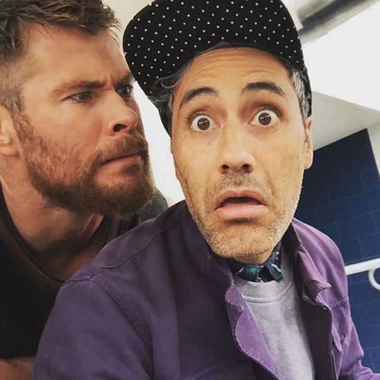 Thor 3 Cast Instagram Photos
