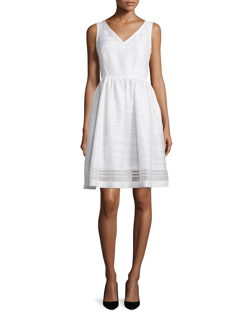 Kate Spade New York ribbon organza fit-and-flare dress ($448)
