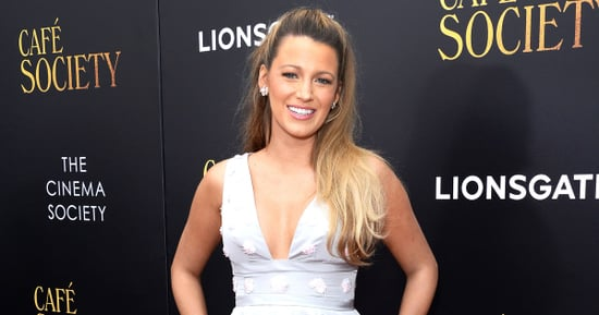 Pregnant Blake Lively Has Legs for Days  in Minidress on Red Carpet