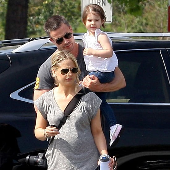 Freddie Prinze Jr With Wife and Daughter at Zoo Pictures
