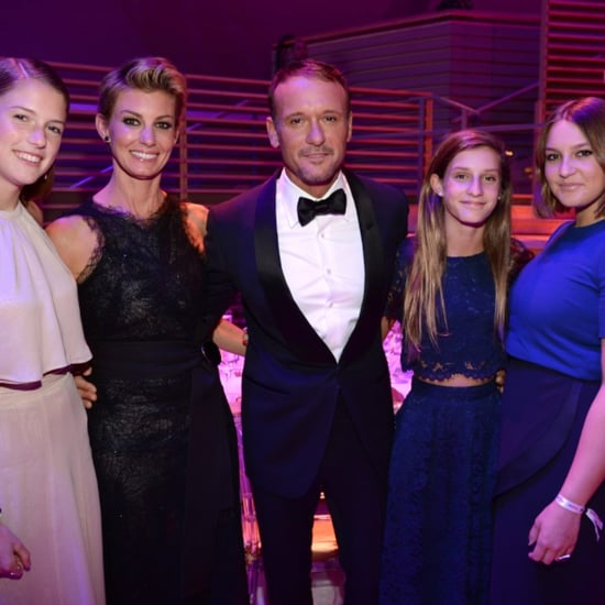 Tim Mcgraw And Faith Hill Wedding: Faith Hill And Tim McGraw With Daughters At Time 100 Gala