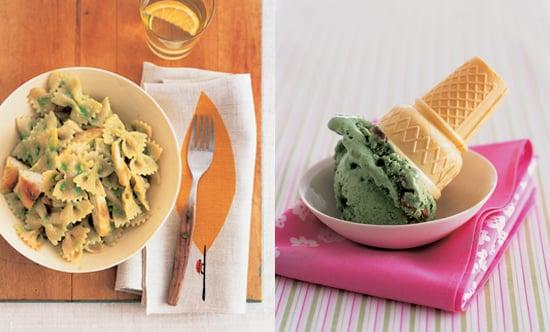 Jessica Seinfeld's Pea Pesto and Mint Chocolate Chip Ice Cream
