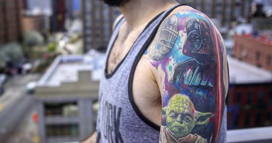 22 Geeky Tattoos That'll Send You Straight Up To Nerd Heaven