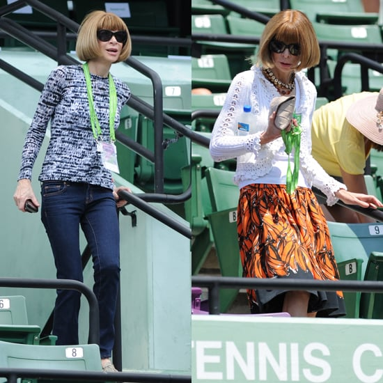 Anna Wintour Spotted in J. Brand Jeans at Sony Ericsson Tennis Open, Steal Her Skinny Jean Style