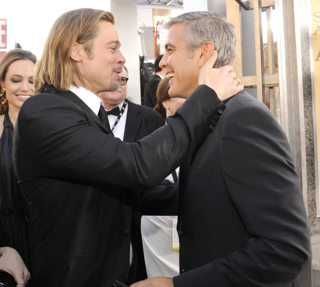 He Jokes About George Clooney