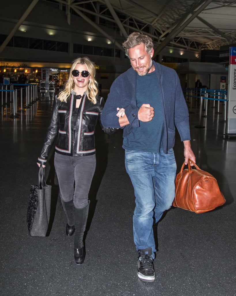 The pair looked so in love while arriving in the Big Apple in January 2016.
