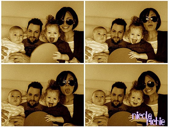 Lil Links: The Richie-Madden Family Snuggles Up For the Camera