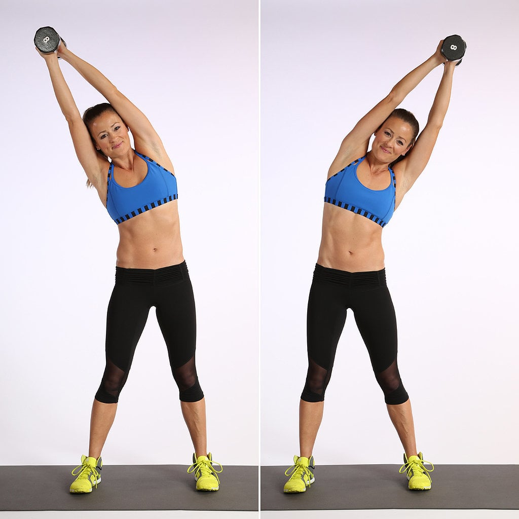 Overhead Dumbbell Side Bend