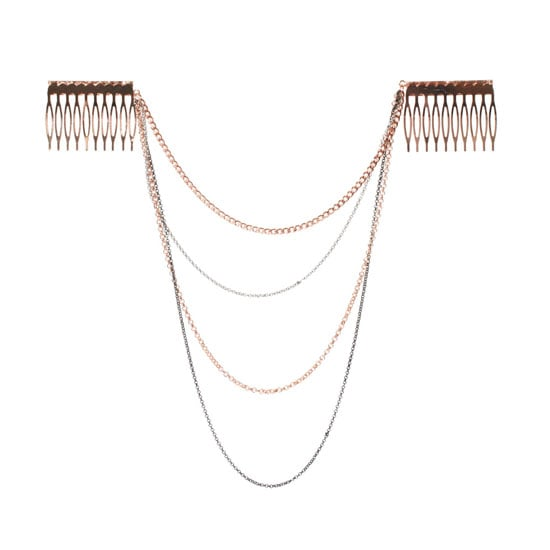 ASOS Hair Spikes with Hanging Chains, approx $20.35
