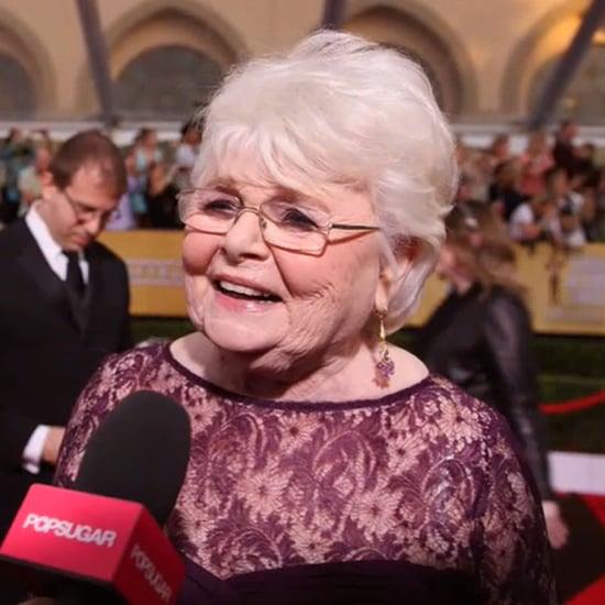 June Squibb Nebraska Interview at 2014 SAG Awards (Video)