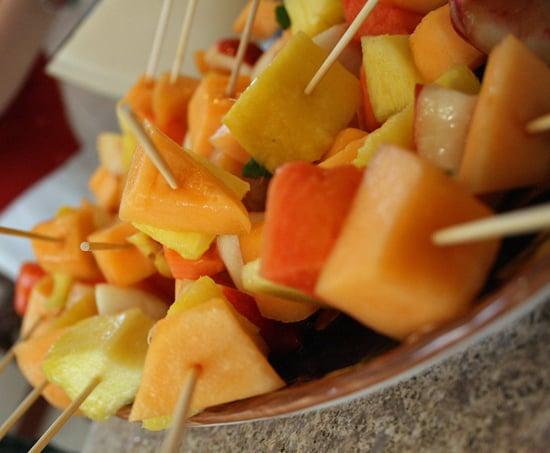 How to Make Fruit Kebabs