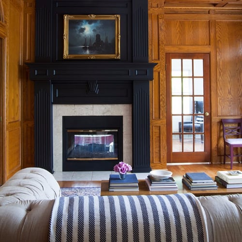 How to decorate your fireplace mantel popsugar home Most affordable way to build a home