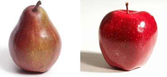 Fiber Quiz: Apple vs. Pear