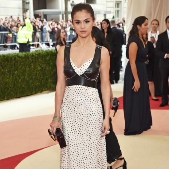 Selena Gomez Sexiest Moments at Met Gala 2016