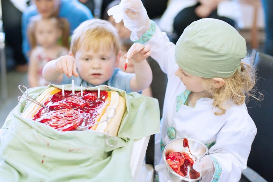 Open-Cake Surgery