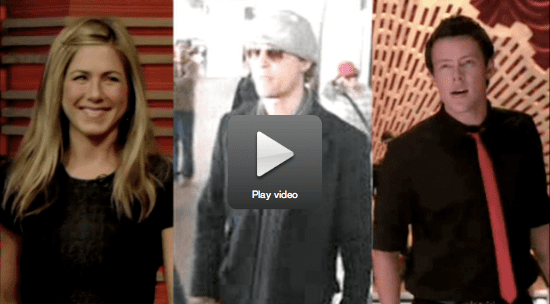 Aniston on Her Sexy Slit, Simpson Talks Mayer, and Learn Glee Cast Secrets!
